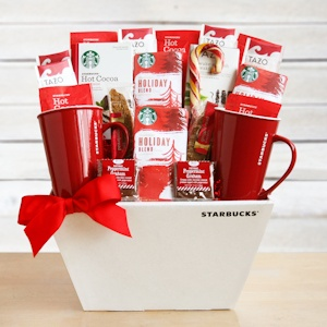 Starbucks Hearthside Holiday Gift Basket imagerjs