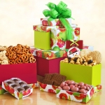 Poppy Snack Foods Gift Tower