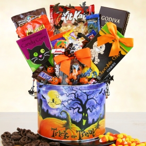 Ghoulish Goodies Halloween Food Gift Tin imagerjs