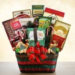 Seasons Greetings Gourmet Christmas Basket