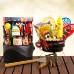 Dad's Complete Tailgaiting BBQ Grill Set