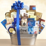 Silver & Blue Special Delivery Gourmet Gift