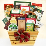 Rustic Gourmet Greetings Gift Basket