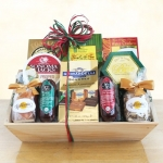Meat Cheese and Chocolate Abundance Crate