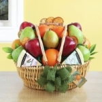 Season's Greetings Holiday Fruit Basket
