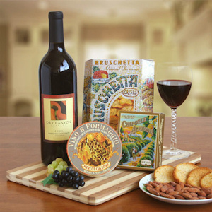 Off the Vine Wine & Cheese Gift imagerjs