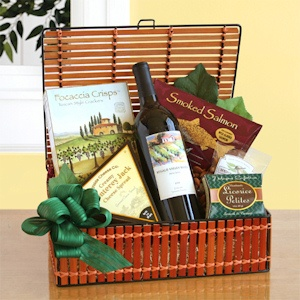 California Dreaming Wine Picnic Basket imagerjs