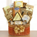Touch of Gold Gift Basket