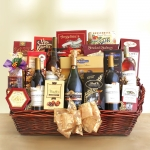 California Extravagance Wine Gift Basket