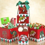 'Ugly Sweater' Snack Tower for Christmas