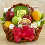 Fresh Fruit & Snacks Gift Basket