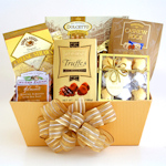 Golden Chocolate Gift Box