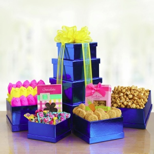 Spring Has Sprung Easter Gift Tower imagerjs