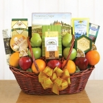 Fruit & Friends Gift Basket