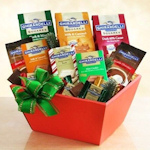Ghirardelli Chocolate Holiday Basket