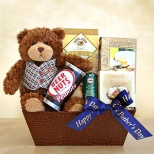 A Bear Hug for Dad Father's Day Basket imagerjs