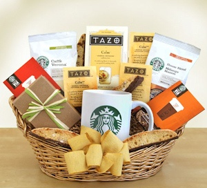 Greet the Day Starbucks Gift Basket imagerjs