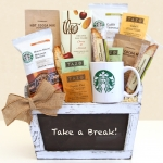 Take a Break Starbucks Gift Basket