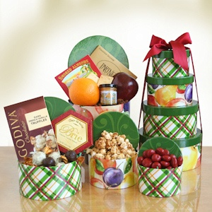 Holiday Harvest Sweet & Savory Tower imagerjs