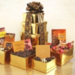 Golden Godiva Chocolate Tower