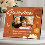 Personalized Grandma Photo Frame (8 Designs)