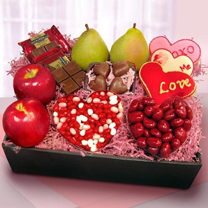 Valentine Sweets and Fresh Fruit imagerjs