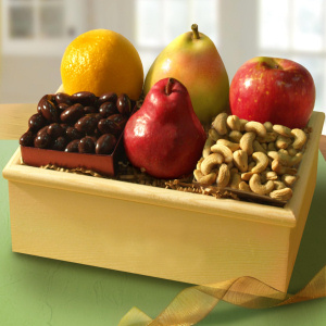 Organic Fruit and Nuts Crate imagerjs