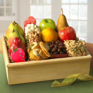 Grand Organic Fruit and Treat Crate imagerjs