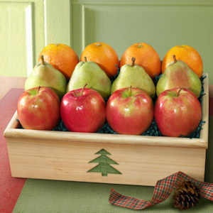 Christmas Fruit Gift Crate imagerjs