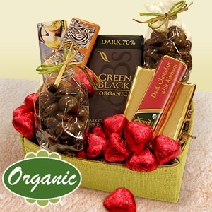 Organic Valentine Chocolate Collection image