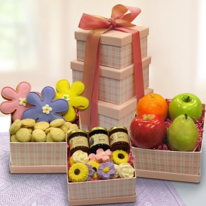 Spring Sweet Treats Tower imagerjs
