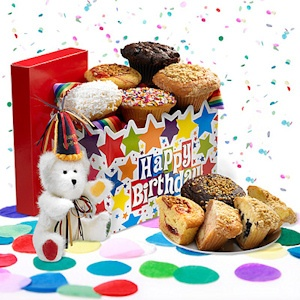 Happy Birthday Gourmet Muffins imagerjs