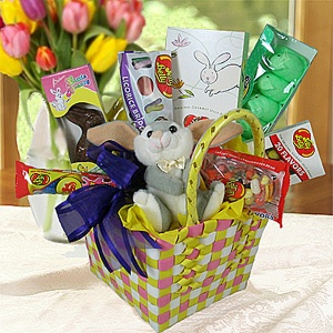 Easter Fun Jelly Belly Basket imagerjs