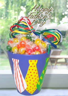 Father's Day Trinket Candy Pot imagerjs