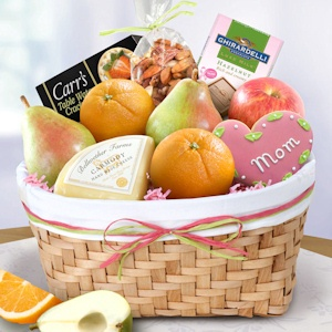 Mother's Day Fruit and Savories Basket imagerjs