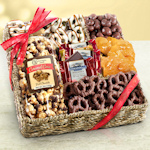 Holiday Caramel Chocolate Munch Basket
