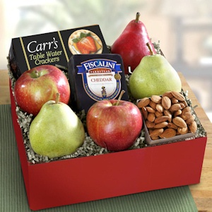 Festive Fruit and Cheese Box imagerjs