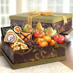 Elegance Fruit and Cheese Snack Box imagerjs