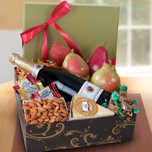 Deluxe Sonoma Fruit and Cider Gift Box imagerjs