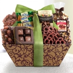 Caramel and Chocolate Extravagance Gift Tray