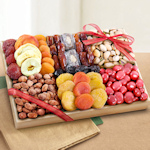 Sweet Extravagance Dried Fruit and Nut Crate