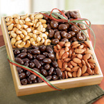 Savory and Sweet Cashew and Almond Tray