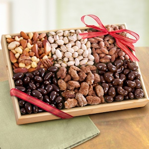 Deluxe Savory and Sweet Nuts Tray imagerjs