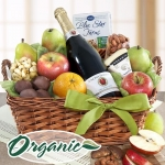 Organic Celebration Gift Basket