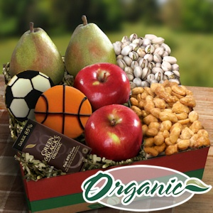 Great Dad Organic Fruit and Snack Gift imagerjs