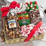 Holiday Classic Chocolate & Crunch Gift Basket
