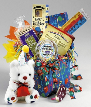 Child's Happy Birthday Basket imagerjs