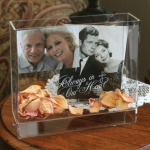 Always in Our Heart Memorial Box Frame