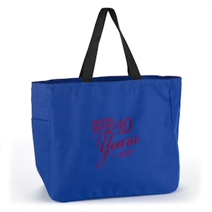 Custom We Tied the Knot Tote Bag imagerjs