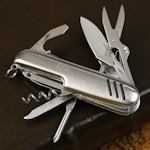 Personalized Multi-Function Swiss Style Knife